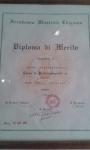 Diploma di Merito 1995 Accademia Chigiana