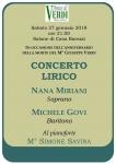 Locandina Concerto Busseto 27.1.2018